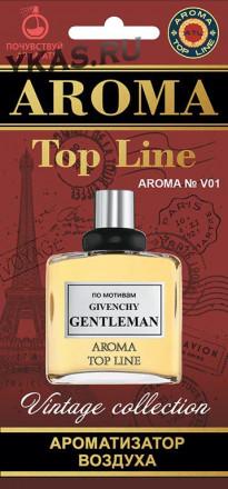 Осв.возд.  AROMA  Topline  Винтажная серия v01 Givenchy Gentleman