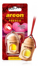 """Осв.возд. Areon FRESCO """"бутылочка в дереве"""" Bubble Gum"""