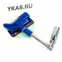 Ключ свечной ALCA 421160   16мм усиленный