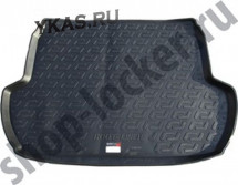 Коврик багажн.  Subaru Forester IV (13-)  (РЕЗИНА)