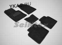 Коврики  KIA Optima IV, V c 2015г- /компл.5шт./осн.резин./ 3D