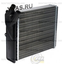 RG Радиатор печки  ВАЗ-2123 алюминиевый