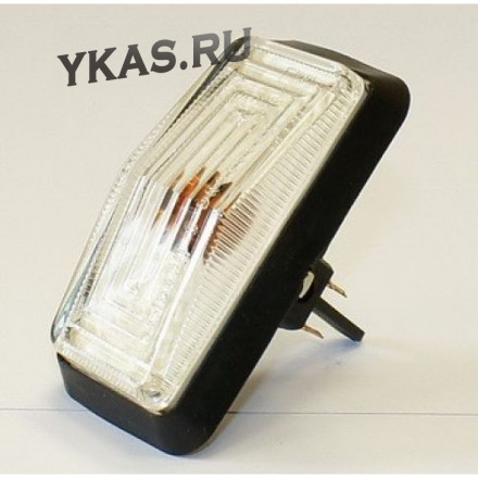 Повторитель поворотов 2105,Г31029,М2141 белый (с прокладкой, лампочкой)