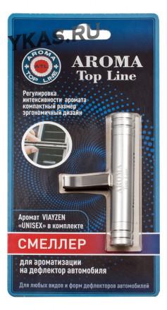 Осв.возд.  AROMA  Topline  на дефлектор UNISEX  серебро