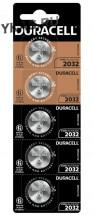 Батарейки Duracell   круглые CR2032 цена за 5шт.