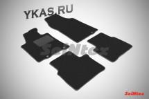 Коврики текстильн. Nissan Teana III с 2014г.- /компл.4шт./осн.резин./ LUX