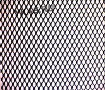Решетка декоративная  1м х 0,25м  гипер  Черная