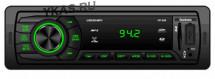 Автомагн.  FANTOM FP-350 Black/Grean USB/SD ресивер , 4х45 Вт