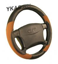 Оплетка на руль   CF  CORD - М, Чёрный/Коричневый