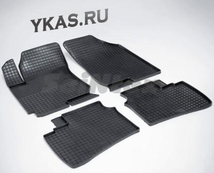 Коврики резиновые   Hyundai Elantra IV 2007-2011г./ i30 2009-2012г. СЕТКА