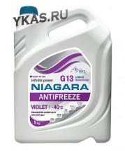 """Антифриз  """"Niagara""""  G13  (фиолетовый) 5 кг"""