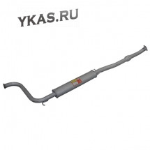 RG Резонатор ВАЗ-1118 ,1119 Калина (с компенсатором)