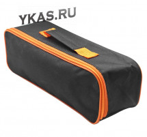 Сумка тех.пом. без логотипа ткань  Carlife (38х13х12см) черный с оранжевым кантом