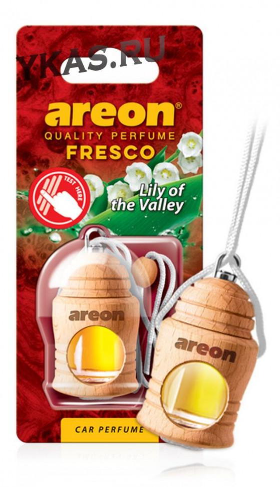 """Осв.возд. Areon FRESCO """"бутылочка в дереве"""" Lily of the Valley (ландыш)"""