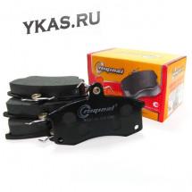 RG Колодка тормозная передняя (кт.4шт.)  ВАЗ-2110-12,1118,2170