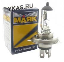 Лампа МАЯК 24V    H4   75/70W   P43t (1шт)