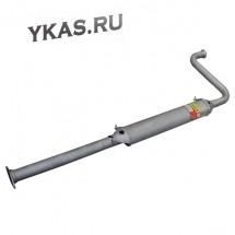 RG Резонатор ВАЗ-2110-2112  (старого образца)