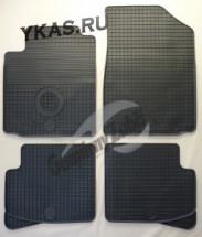 Коврики резиновые   Toyota Yaris с 1999-2005г.