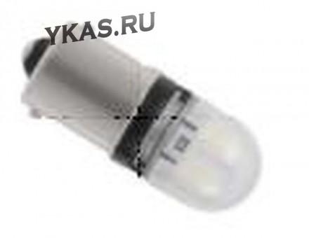 Маяк Cвет-од 12V  T15   3 SMD (2835) BA15s SUPER WHITE (бл.2шт)