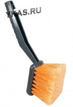 Щетка для мойки  для труднодоступных мест, прорезиненая ручка (25см)  (LS005)