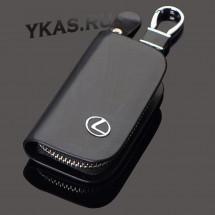 Ключница модельная  CITROEN  черная  (8,5*5см.)