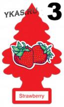 "Осв.воздуха  Wunder-Baum Little   ""Strawberry""  Клубника"