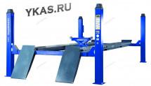 Подъемник четырехстоечный, c траверсой, г/п 5 тонн, для сход-развала_50804
