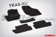 Коврики текстильн. Citroen C4 I 2004-2012г.  /компл.5шт./осн.резин./  LUX