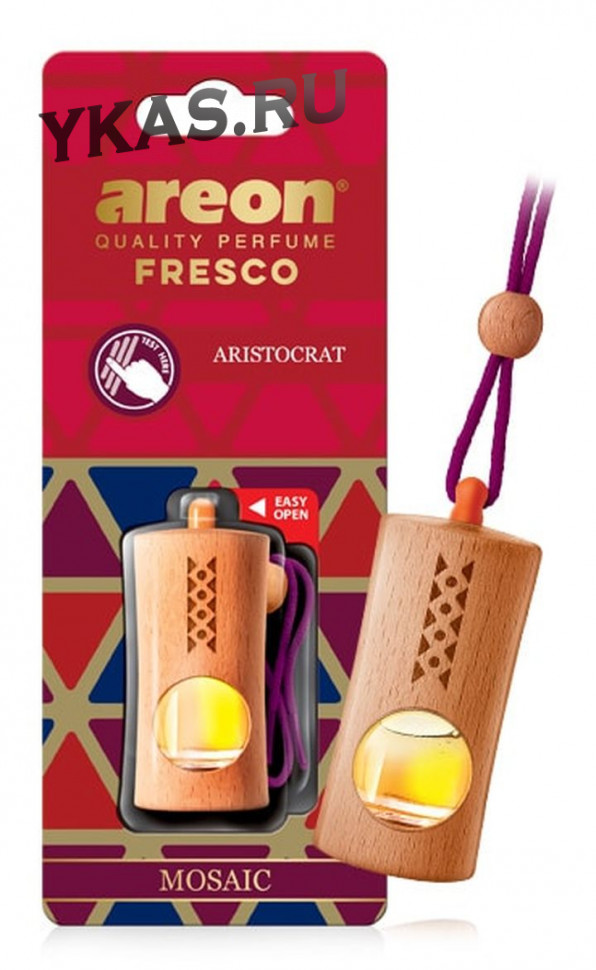 """Осв.возд. Areon FRESCO """"бутылочка в дереве"""" MOSAIC  Aristocrat"""