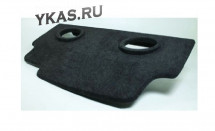 Полка акустическая  LADA 2112  дсп/мдф (15-20мм) карпет Черный
