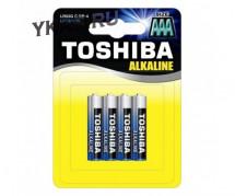 Батарейки Toshiba   AAA  (Мизинчиковые) LR03 цена за 4шт.