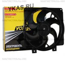 VLT Вентилятор охлаждения  ВАЗ-1118 с кожухом (без резистора)