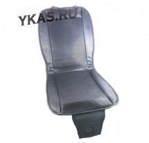 Накидка на сиденье KS-01 с подогревом и вентиляцией-охлаждением, индикатор сети, 12В