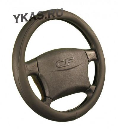 Оплетка на руль   CF  CREEK - М, Чёрный/Чёрный