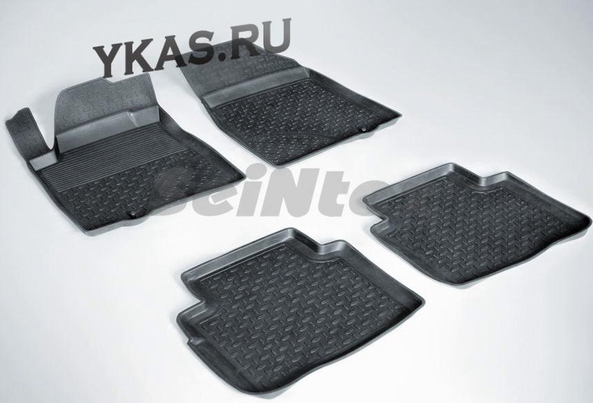 Коврики резиновые   Nissan Teana c 2008-2014г- БОРТ