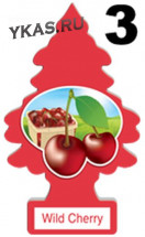"Осв.воздуха  Wunder-Baum Little   ""Wild Cherry""  Дикая вишня"