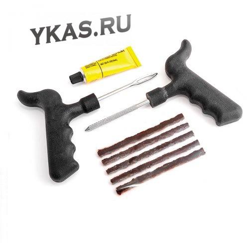 Наборы для ремонта бескамерки Autoprofi  (2шила+5шнура) с КЛЕЕМ  Евродизайн