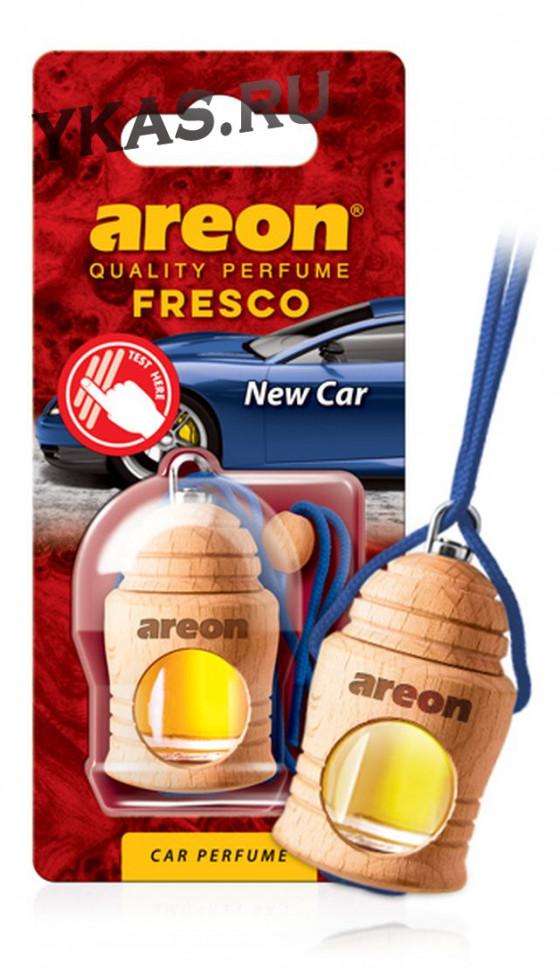 "Осв.возд. Areon FRESCO ""бутылочка в дереве"" New Car"