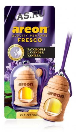 "Осв.возд. Areon FRESCO ""бутылочка в дереве"" Patchouli Lavanda Vanilla"