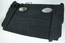 Полка акустическая  LADA НИВА (5ти двер.) стандарт  дсп/мдф, (15-20мм) карпет  Черный