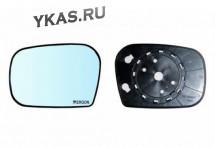 """Зеркальный элемент  Lada 2123  """"Chevrolet NIVA""""  голубого тона  Левый"""