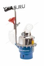 Установка пневматическая для прокачки тормозной системы и системы сцепления, об. 6 л._15549