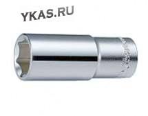 """Инструмент HANS. Торцевая головка глубокая 1/2"""" 6-гр. 19 мм"""