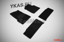 Коврики текстильн. УАЗ Патриот 2007-2015г. /компл.4шт./осн.резин./ LUX