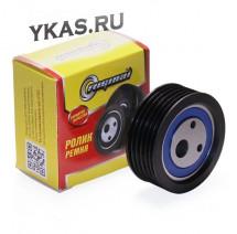 RG Ролик натяжной ремня ГУРа  ВАЗ-2110-12