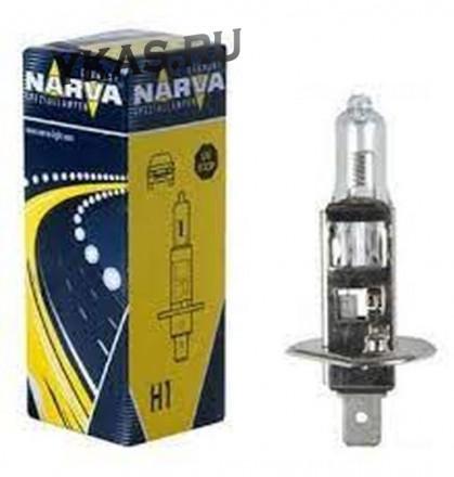 Автолампа Narva 12V   H1   100W   P14,5s (1 шт.) STANDARD HALOGEN LAMPS|