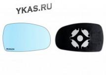 Зеркальный элемент  Lada Kalina с 2004-2013г.  голубого тона  Правый