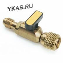 Вентиль переходник (F1/4 SAE x M1/4 SAE) _48841