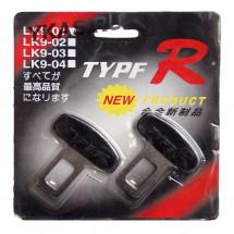 "Блокировка гнезда ремня безопасности ""Type-R"" метал. 2шт."