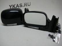 Зеркало боковое  3Б-3291-07/LADA 04,05,07/LED Black/ Чёрное с повторит. поворота